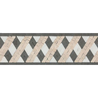 Daltile Fashion Accents Stone Combinations F006 Lattice Tile & Stone