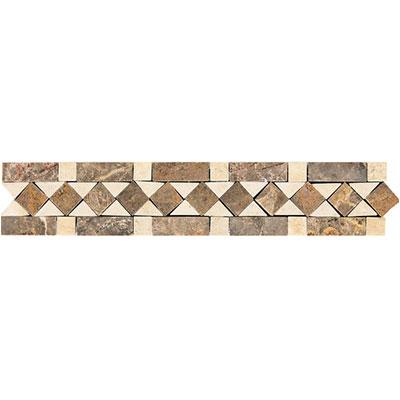 Daltile Fashion Accents Stone Combinations FA70 Honed Diamond Tile & Stone