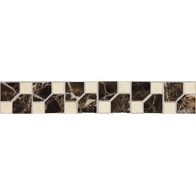 Daltile Fashion Accents Stone Combinations FA72 Jewel Dark Tile & Stone