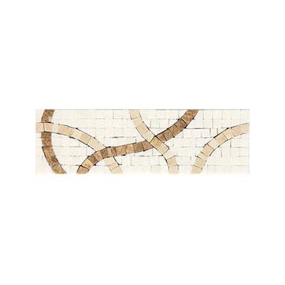 Daltile Fashion Accents Stone Combinations FA88 Crossroads White Tile & Stone