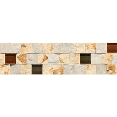 Daltile Stone Decorative Borders Adige Warm Blend Tile & Stone
