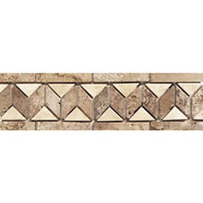 Daltile Stone Decorative Borders Sand / Walnut Tile & Stone