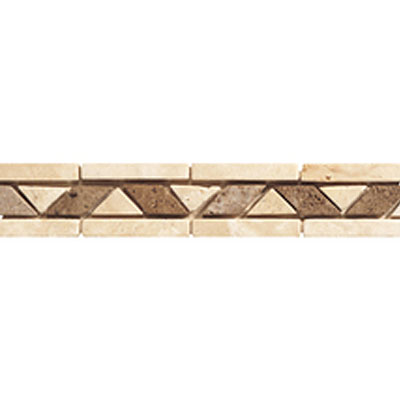 Daltile Stone Decorative Borders Walnut Rope Tile & Stone