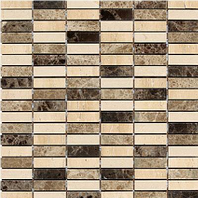 Daltile Stone Decorative Mosaics Ticino Stacked Joint Polished Tile & Stone