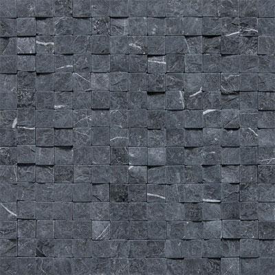 Daltile Stone a la Mod Mosaics High/Low Split Face - Nouveau Nero Tile & Stone