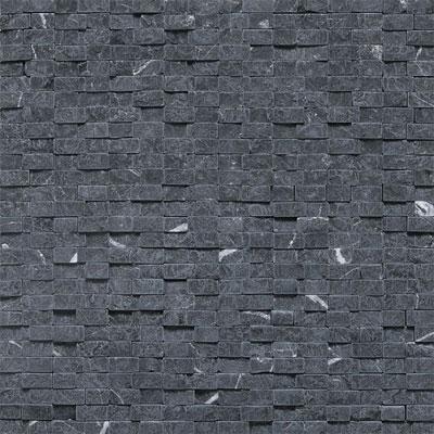 Daltile Stone a la Mod Mosaics Split Face Random Brick Joint - Nouveau Nero Tile & Stone