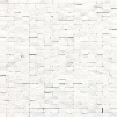 Daltile Stone a la Mod Mosaics Split Face Random Brick Joint - Contempo White Tile & Stone