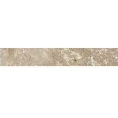 Daltile Travertine Builder Select Pencil Rail Light Noce Honed Tile & Stone