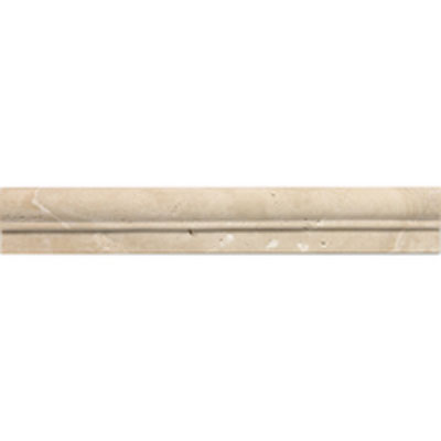Daltile Travertine Natural Stone Honed Chair Rail Torreon Tile & Stone