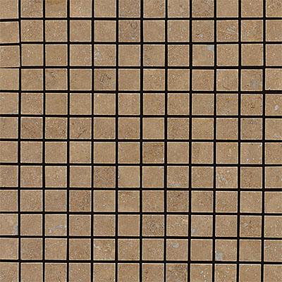 Daltile Travertine Natural Stone Honed Mosaics 1 x 1 Noce Tile & Stone