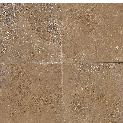 Daltile Travertine Natural Stone Honed 18 x 18 Noce Tile & Stone