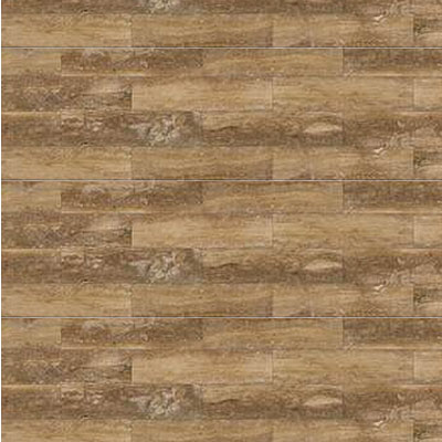 Daltile Travertine Natural Stone Honed 4 x 12 Petrified Forest Tile & Stone
