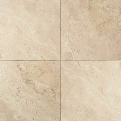 Daltile Travertine Natural Stone Honed 16 x 16 Baja Cream Tile & Stone