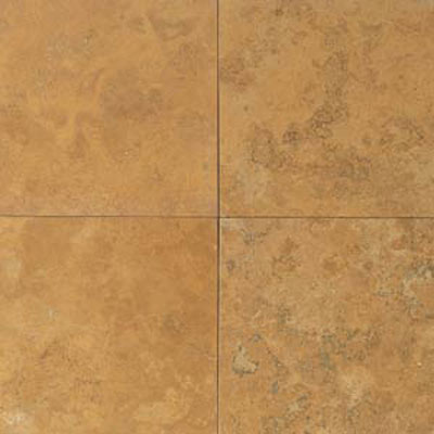 Daltile Travertine Natural Stone Honed 12 x 12 Golden Sienna Tile & Stone