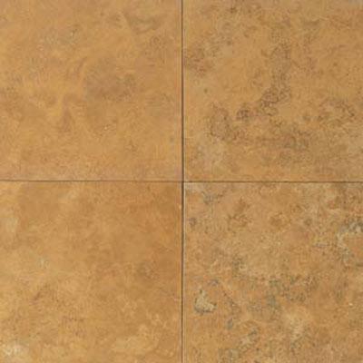 Daltile Travertine Natural Stone Honed 12 x 12 Golden Sienna Tile & Stone