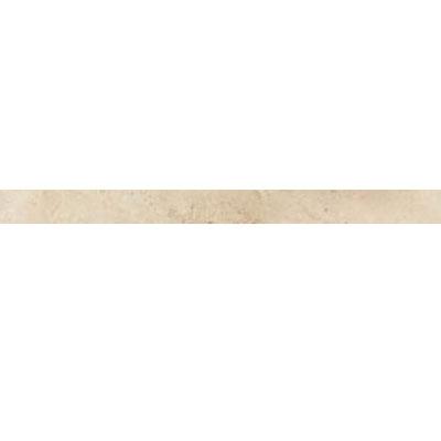Daltile Travertine Natural Stone Honed Pencil Rail Baja Cream Tile & Stone