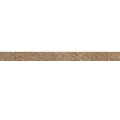 Daltile Travertine Natural Stone Honed Pencil Rail Noce Tile & Stone