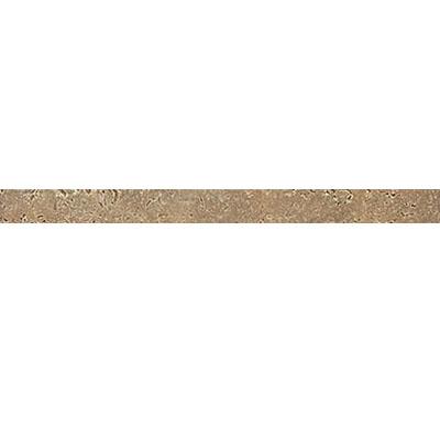 Daltile Travertine Natural Stone Polished Pencil Rail Noce Tile & Stone