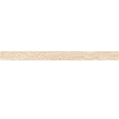 Daltile Travertine Natural Stone Honed Pencil Rail Torreon Tile & Stone