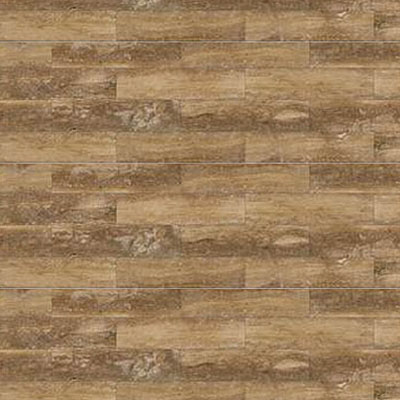 Daltile Travertine Natural Stone Plank Honed 4 x 36 Petrified Forest Tile & Stone