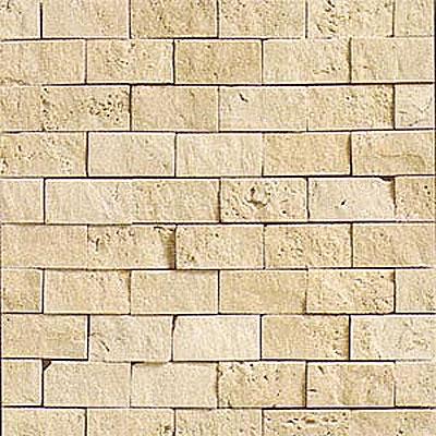 Daltile Tumbled Natural Stone Split Face Mosaic Torreon Tile & Stone