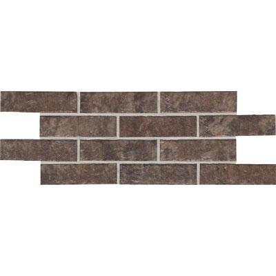 Daltile Union Square 4 x 8 Paver Cobble Brown Tile & Stone