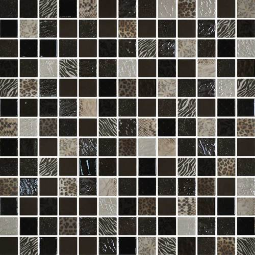 Daltile Uptown Glass Mosaics Exotic Brown (Wall) Tile & Stone