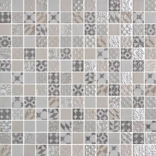 Daltile Uptown Glass Mosaics Metro Cream (Wall) Tile & Stone