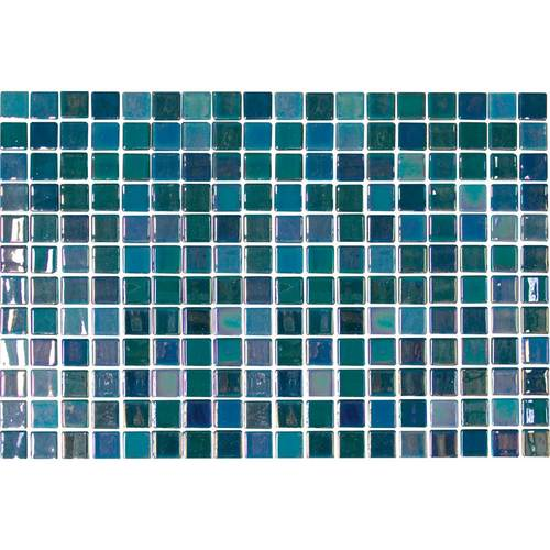 Daltile Uptown Glass Mosaics Pearl Blue (Wall) Tile & Stone
