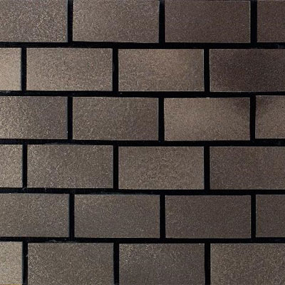 Daltile Urban Metals Brick Joint Bronze Brick Joint Tile & Stone
