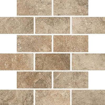 Daltile Valtellina Brick Joint Mosaic 2 x 4 Alpine Pass Tile & Stone