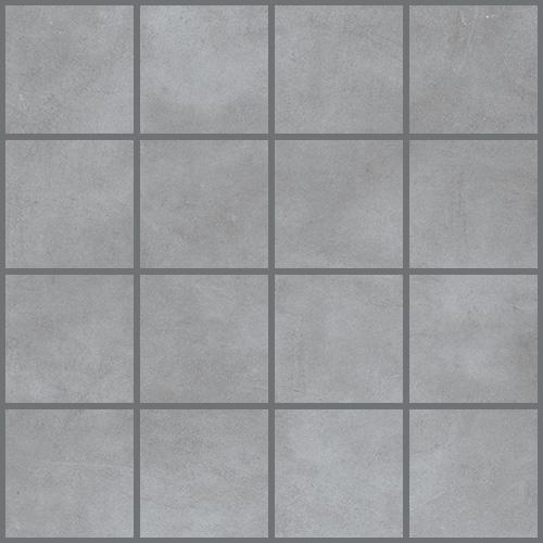 Daltile Veranda 3 x 3 Mosaic Steel Tile & Stone