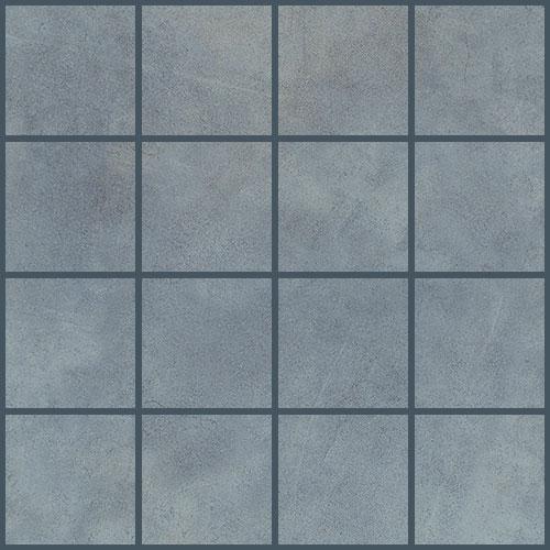 Daltile Veranda 3 x 3 Mosaic Titanium Tile & Stone