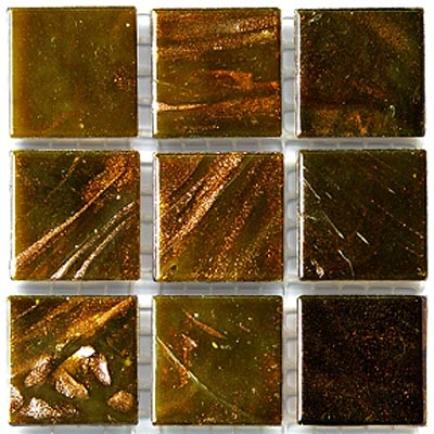 Diamond Tech Glass Mosaic Glass Series - Gold Veined Gold Tile & Stone