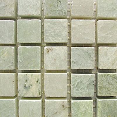 Diamond Tech Glass Stone Series 5/8 Polished Mosaic Ming Green (Sample) Tile & Stone
