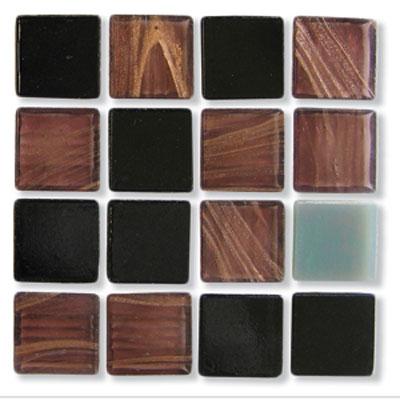 Diamond Tech Glass Mosaic Glass Series - Mixes Byzantine Tile & Stone