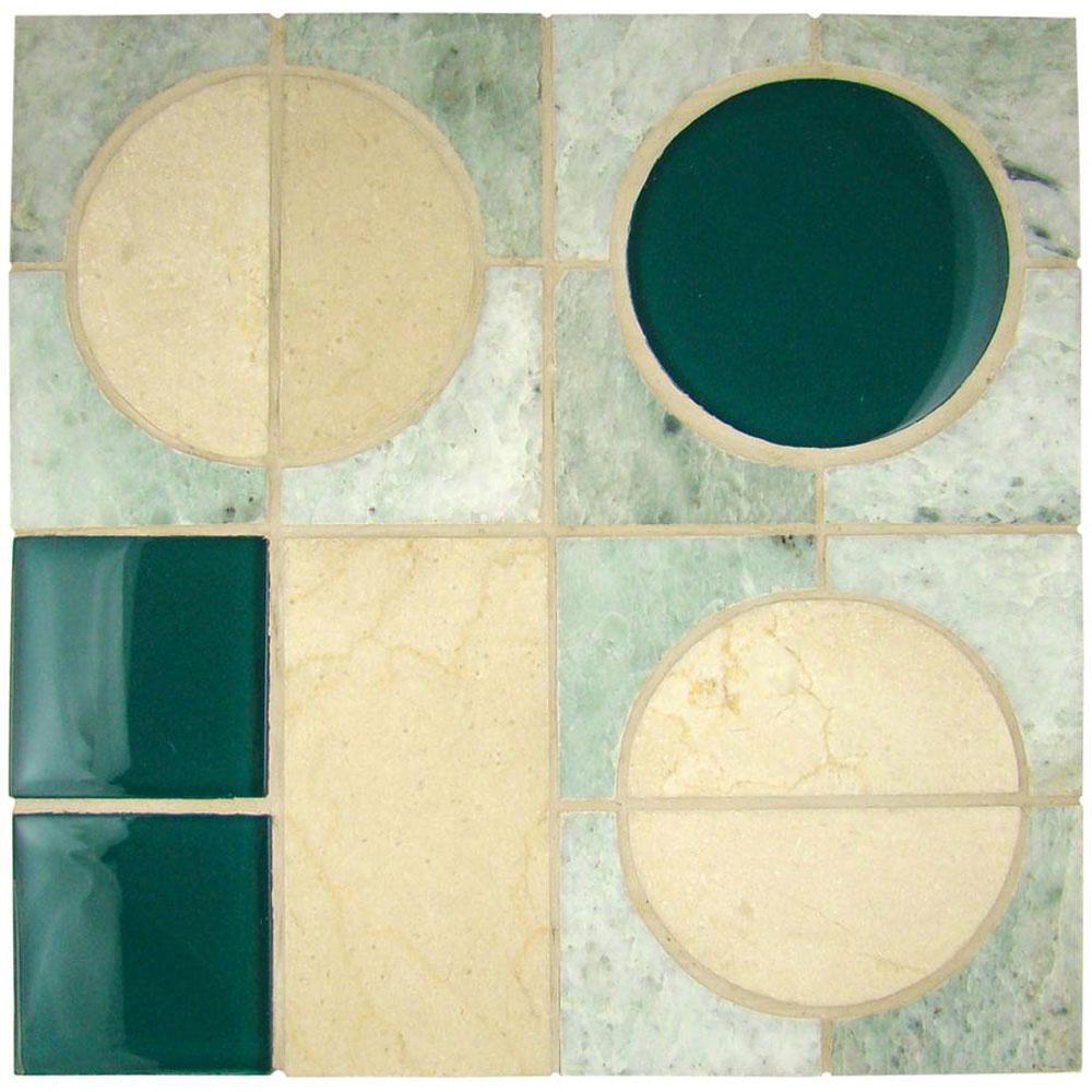 Diamond Tech Glass Opus Mosaic Genesis (Sample) Tile & Stone