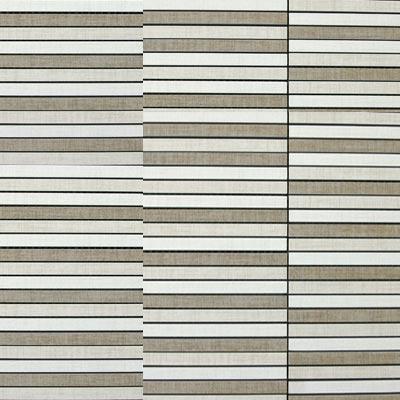 Eleganza Tiles Contempo 12 x 12 Matchstick Mosaic Matte Aspen Blend Tile & Stone
