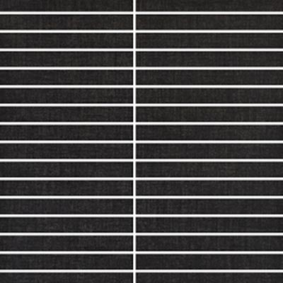 Eleganza Tiles Contempo 12 x 12 Matchstick Mosaic Matte Midnight Black Tile & Stone