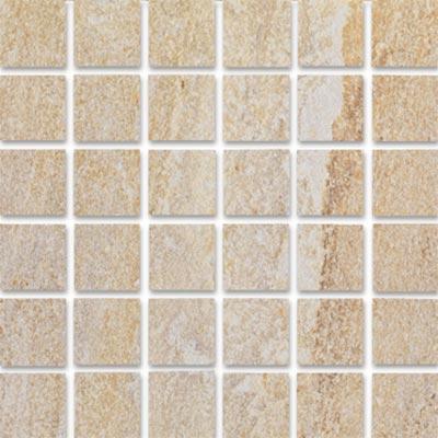 Eleganza Tiles Digiquartz 12 x 12 Mosaic Matte Luxor Beige Tile & Stone