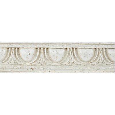 Eleganza Tiles Roman Vein-Cut 3 x 12 - 4 x 12 Listello Cappuccino Tile & Stone
