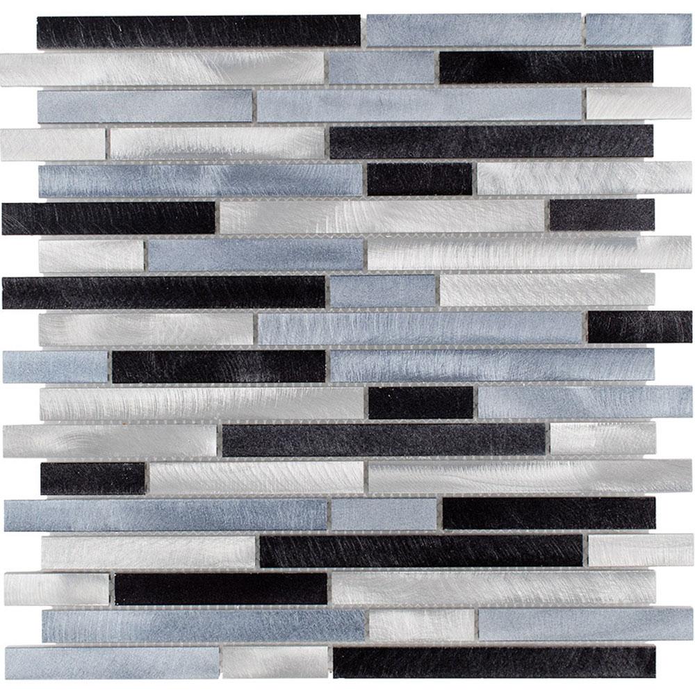 Elida Ceramica Elida Metal Mosaic Stripes 80315 Tile & Stone