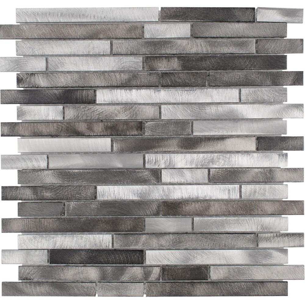 Elida Ceramica Elida Metal Mosaic Stripes 80515 Tile & Stone