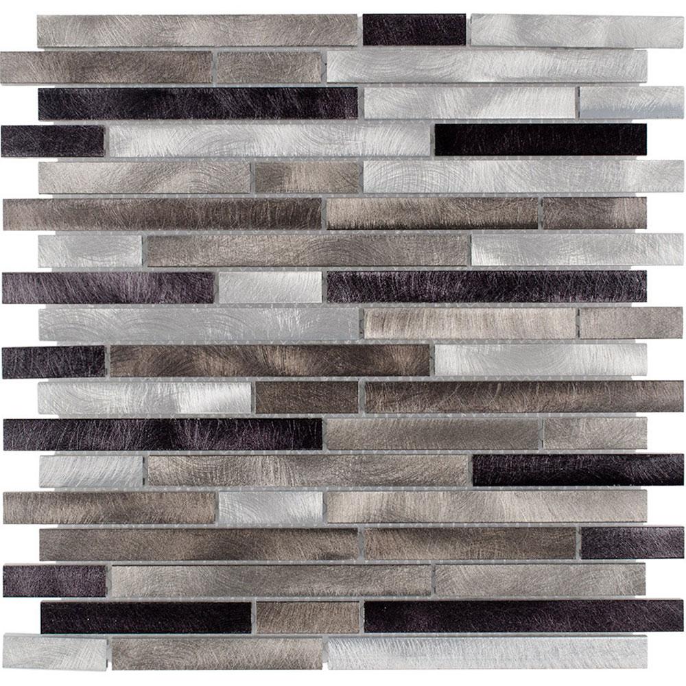 Elida Ceramica Elida Metal Mosaic Stripes 80615 Tile & Stone