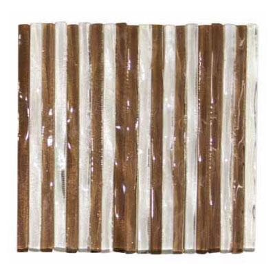 Elida Ceramica Murano Transparent 4 x 4 Crystal Ambar Tile & Stone
