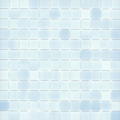 Elida Ceramica Recycled Glass Ice Mosaic Non Skid Baby Blue Tile & Stone