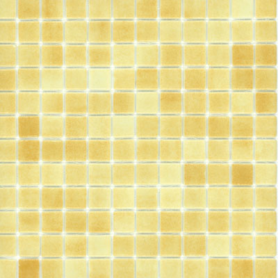 Elida Ceramica Recycled Glass Ice Mosaic Peanut Butter Tile & Stone