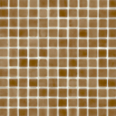 Elida Ceramica Recycled Glass Ice Mosaic Root Beer Tile & Stone