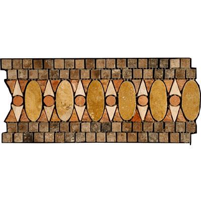 Stone Collection Mexican Travertine Decorative Borders Barbara Tile & Stone