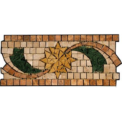 Stone Collection Mexican Travertine Decorative Borders Dawn Tile & Stone